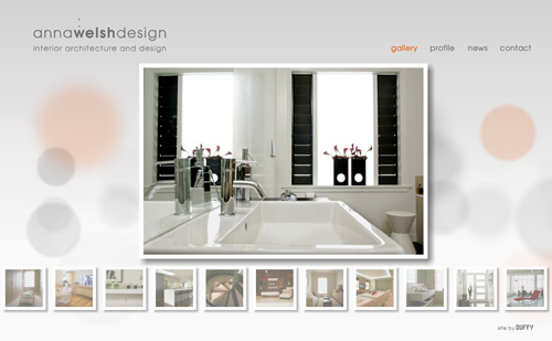 Custom Web Site Design Anna Welsh Interior Designer