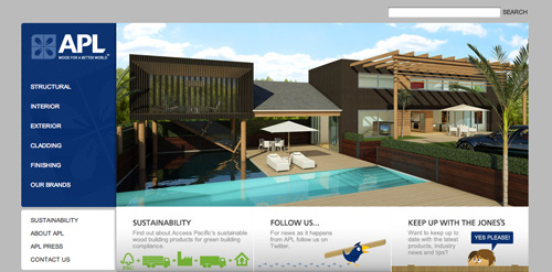 access-pacific-new-zealand-website-design