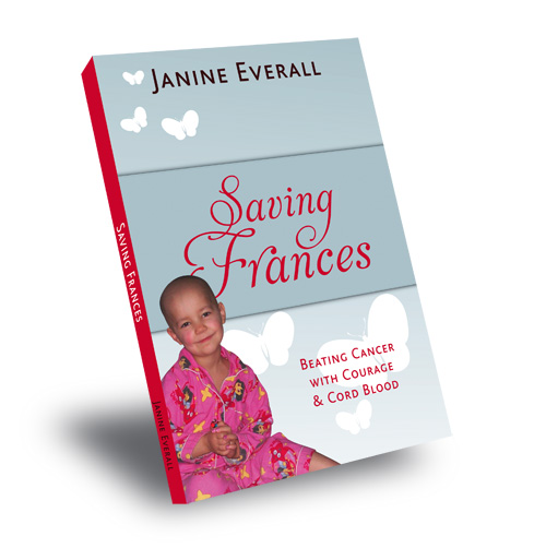 Book Design - Saving Frances