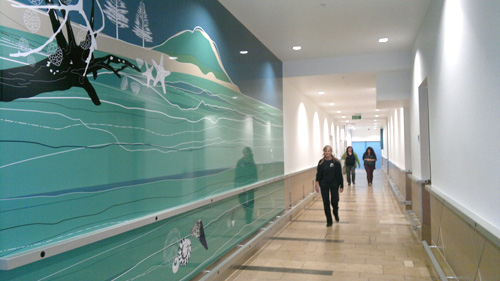 Custom Mural Design Bayfair Shopping Centre Duffy Design