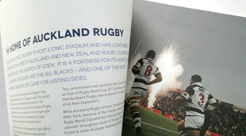 Proposal Design Auckland And Blues Rugby