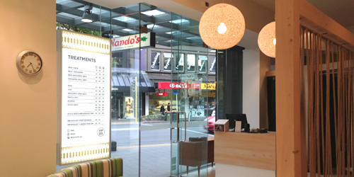 Shop Branding Auckland The Rub Broadway Newmarket Lightbox Design Duffy Design