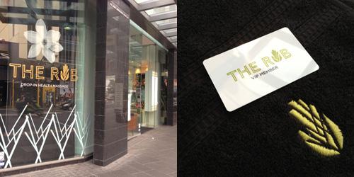 Shop Branding Auckland The Rub Broadway Newmarket Rialto Entrance Duffy Design