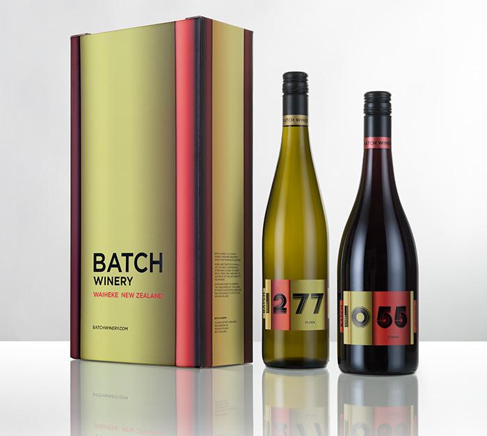Custom Wine Box Packaging Design Batch Winery