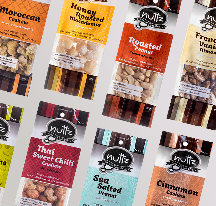Food Package Design Nuts