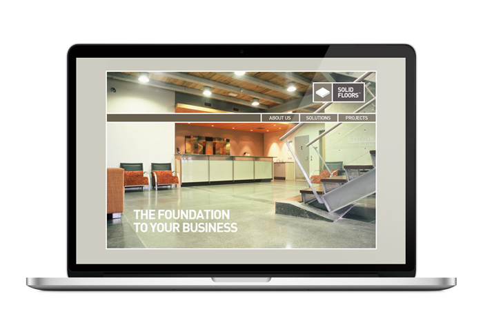 Solid Floors Website Design Duffy Design
