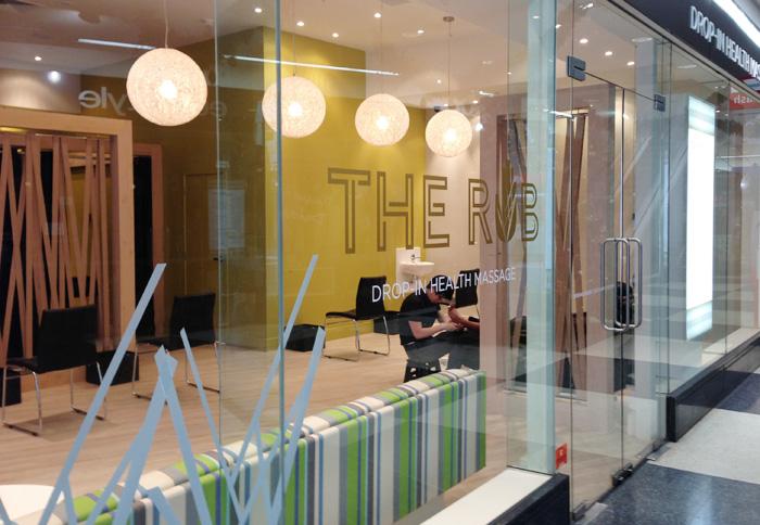 Shop Window Design - The Rub Newmarket Auckland