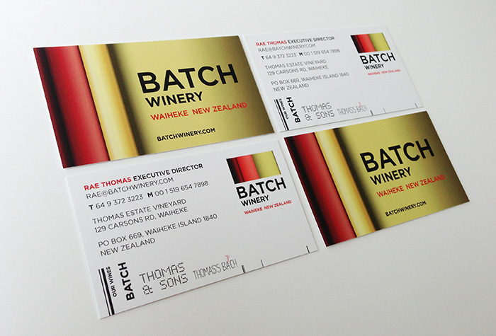 Winery Stationery Design