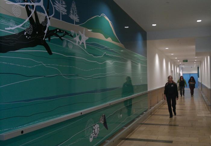 Bayfair Shopping Mall Amenities Corridor Wall Art Duffy Design