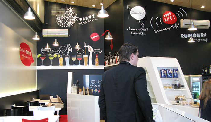Cafe Interior Graphics