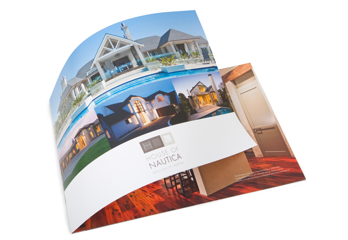 New Logo Brochure Cover Nautica Homes