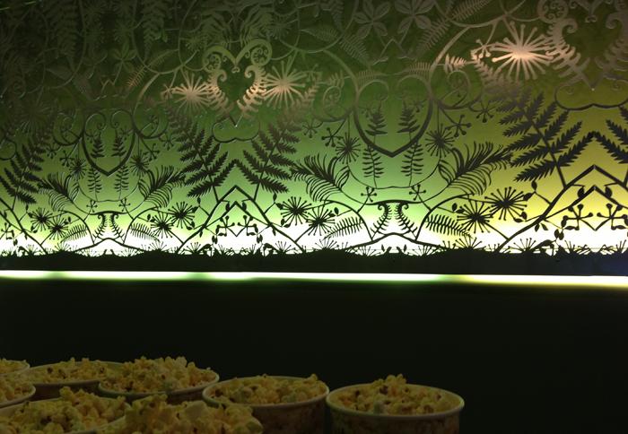 Custom Wall Art Hoyts La Premiere Sylvia Park Fern Mural Duffy Design
