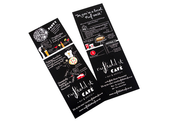 flyers design for cafe
