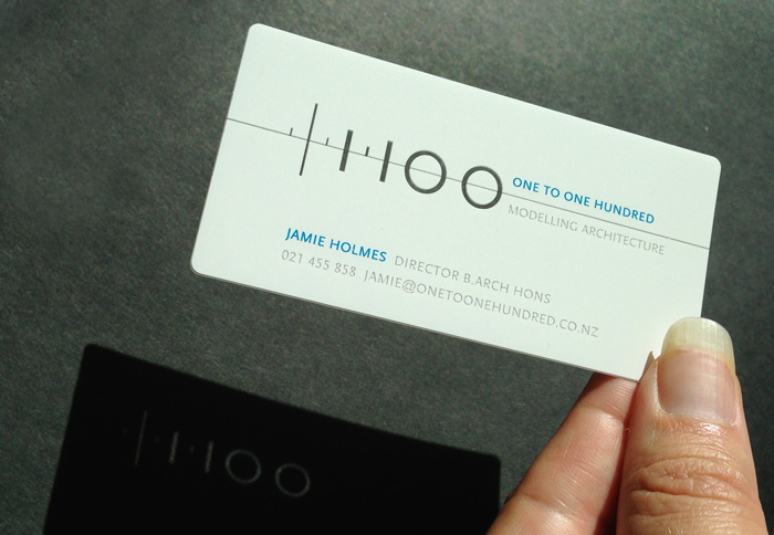 one-to-one-hundred-clear-business-card