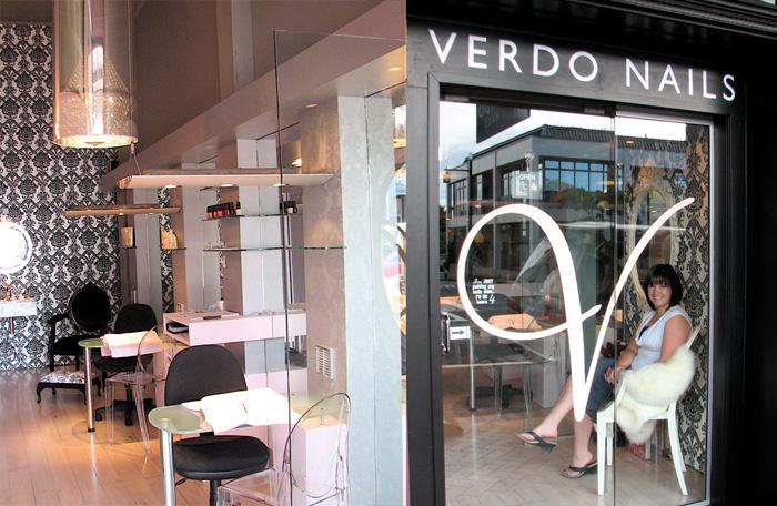 Salon Branding Verdo Nails Parnell Auckland