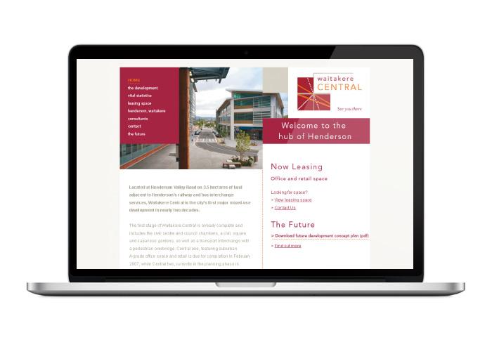 waitakere-central-website-design