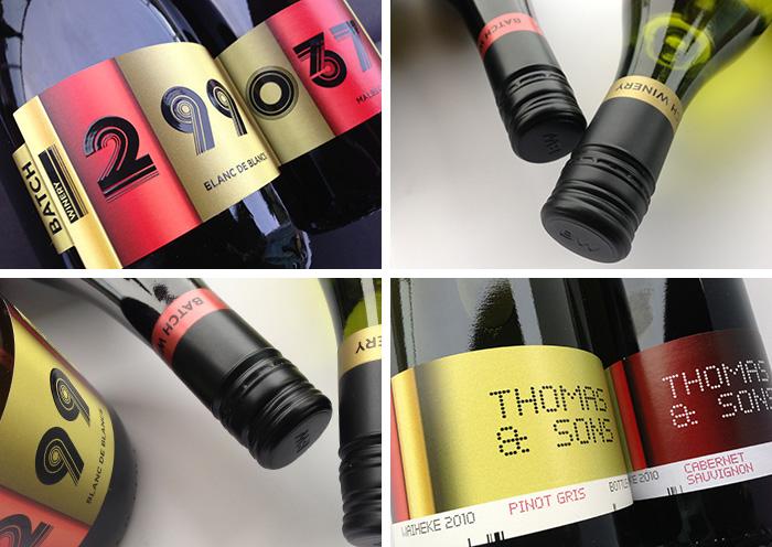 Wine Label Design Batch Winery