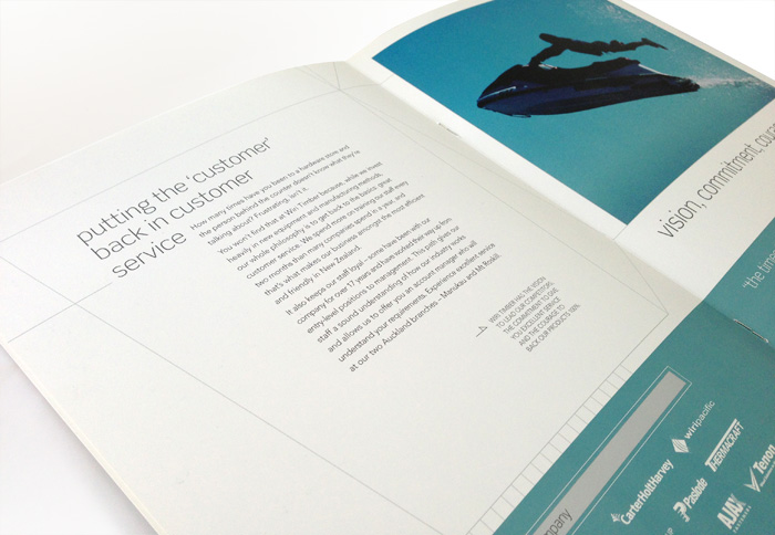 Corporate Brochure Design Inside Spread