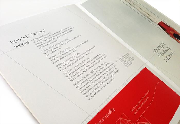 Corporate Brochure Design Inside Spread