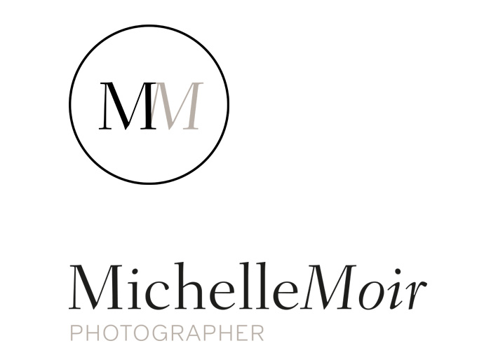 Brand Identity Design Photographer Michelle Moir