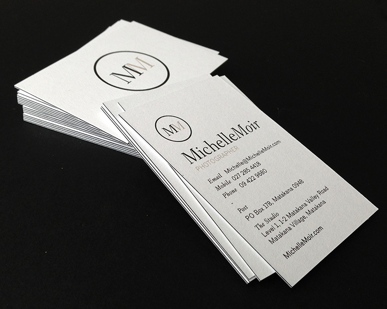 Print Collateral Design - Michelle Moir