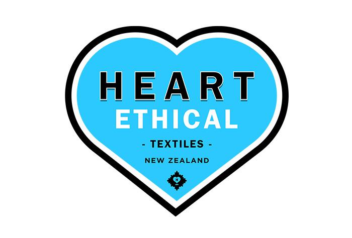 50s logo design textiles heart