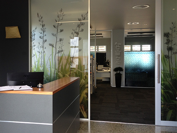 Office interior graphics pipeline and civil offices for Office design auckland