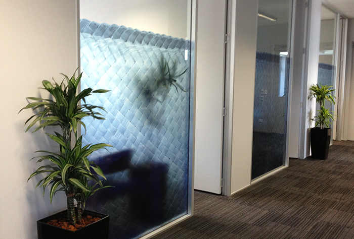 Office Interior Graphics Glass Walls