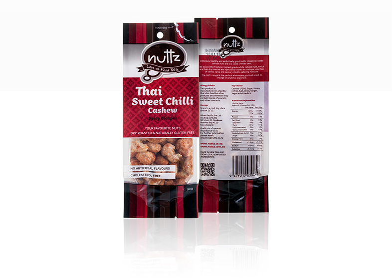 Nuts Food Packaging