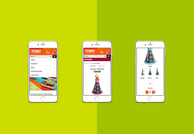 Gift Website Design Mobile