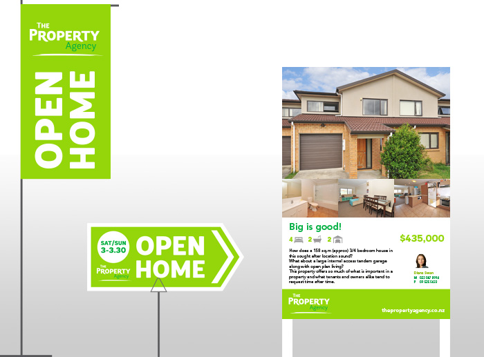 Open Home Signs