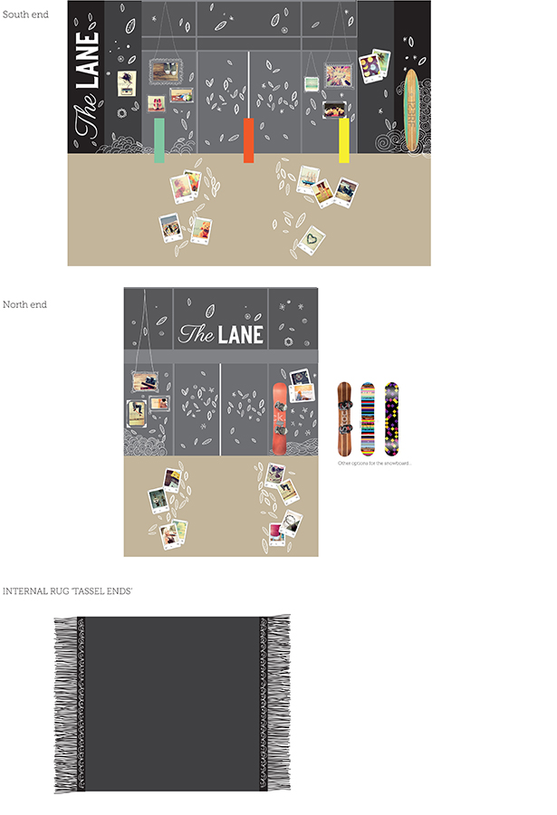 The Lane - working drawings