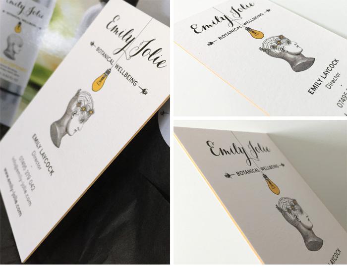 Aromatherapy Business Card Design