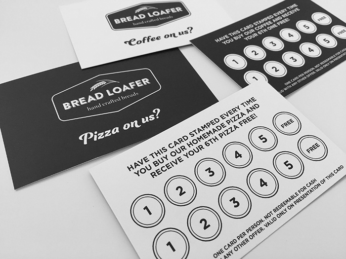 bakery loyalty cards
